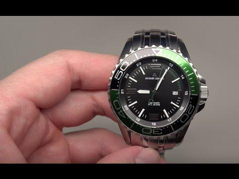 scarpe da corsa 100% di soddisfazione 100% originale Jacques Lemans Liverpool Diver's Men's Watch Review Model: 1-1353E