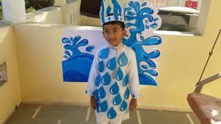 1st prize winner in Fancy Dress Competition