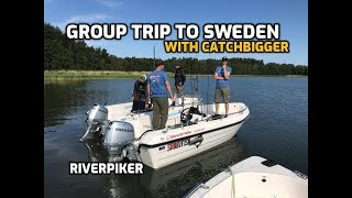 Riverpiker group trip to Sweden with Catchbigger - (video 243)