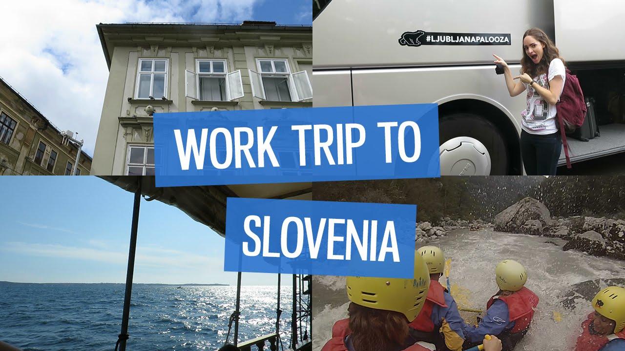 vlog a work trip to slovenia charlimarietv youtube