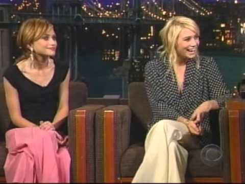 Mary-Kate and Ashley Olsen - David Letterman 2004 pt 1