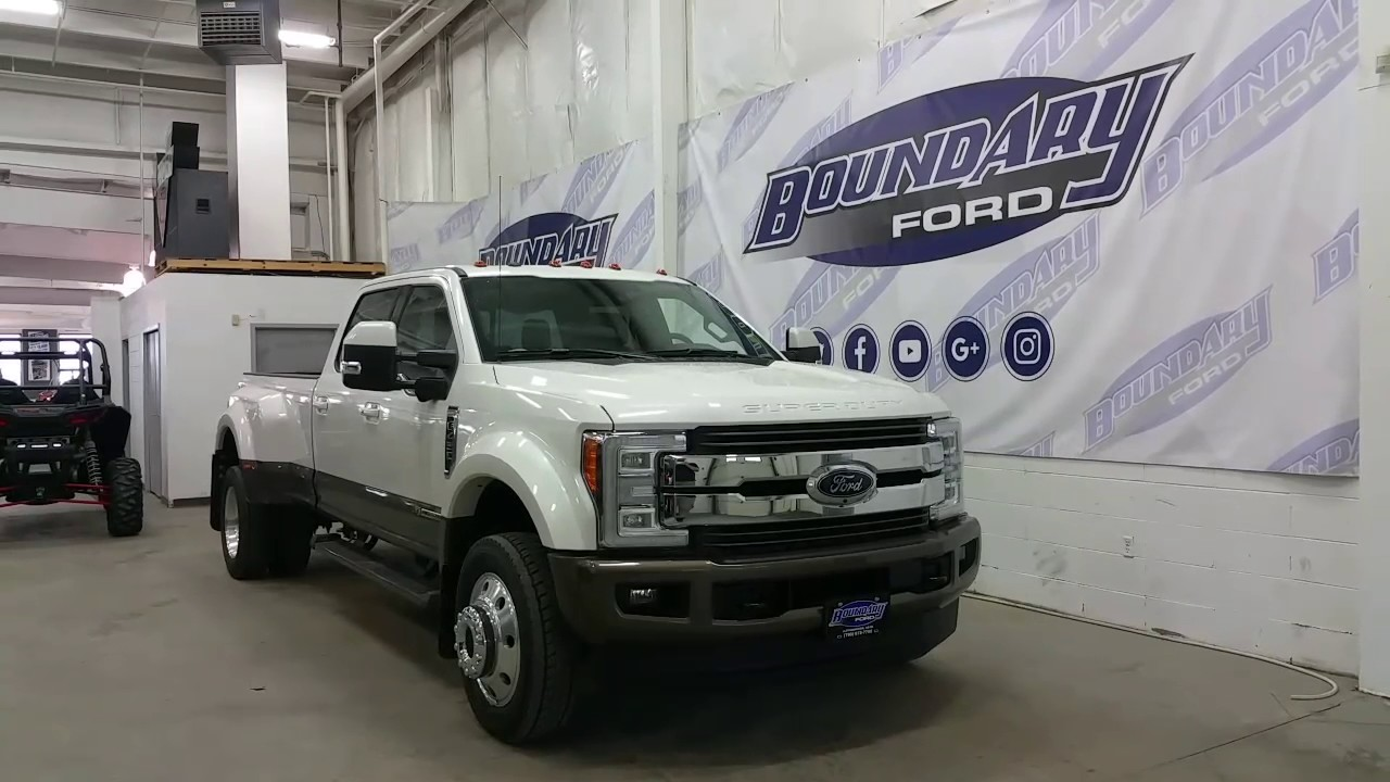 F 450 King Ranch >> 2017 Ford F-450 King Ranch DRW W/ Twin Panel moonroof