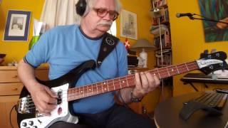 Something - Beatles - George Harrison -- Rickenbacker 4003s JG
