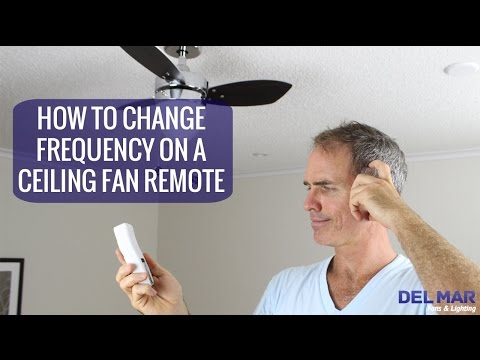 How to Reset or Sync Your Ceiling Fan Remote Frequency | DelMarFans com