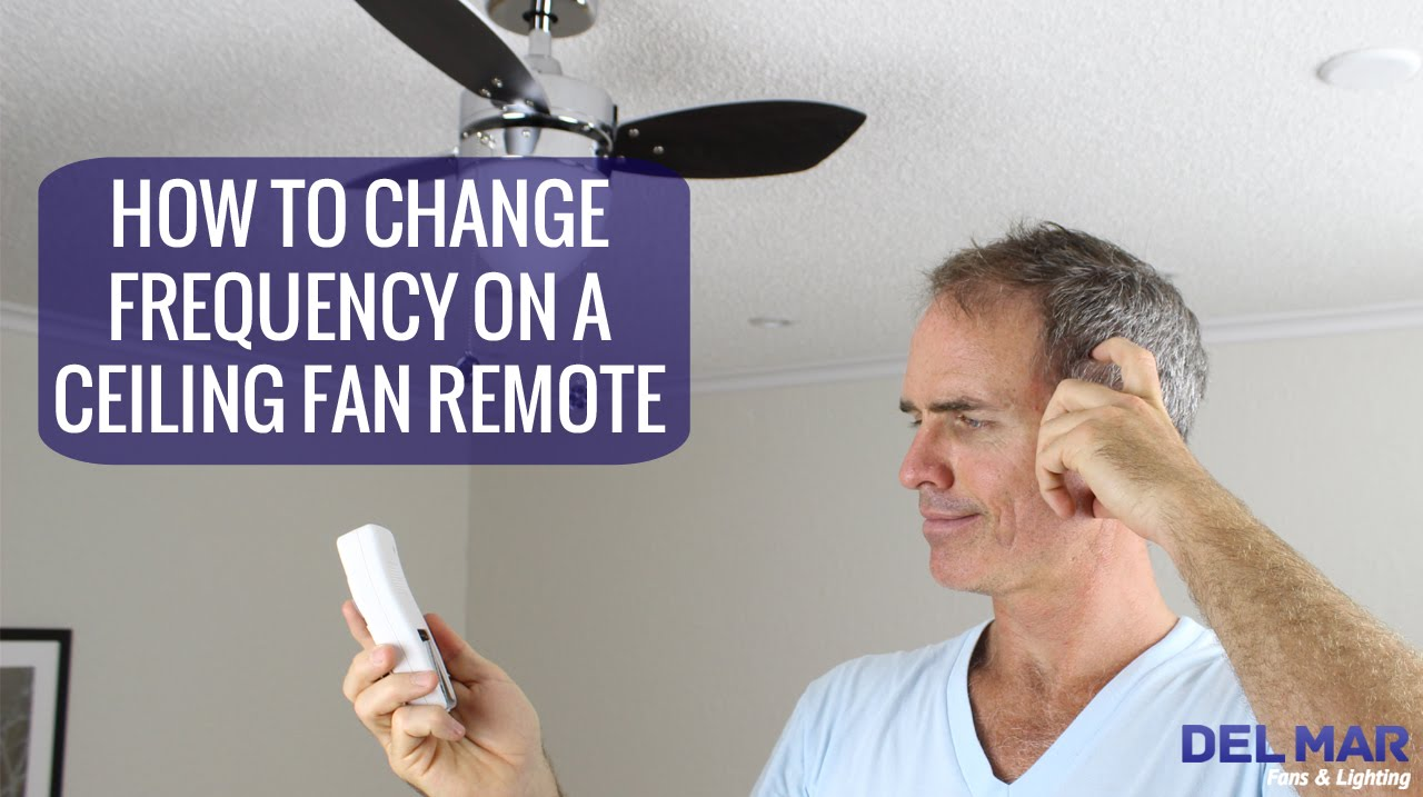 medium resolution of how to change the frequency on a ceiling fan remote