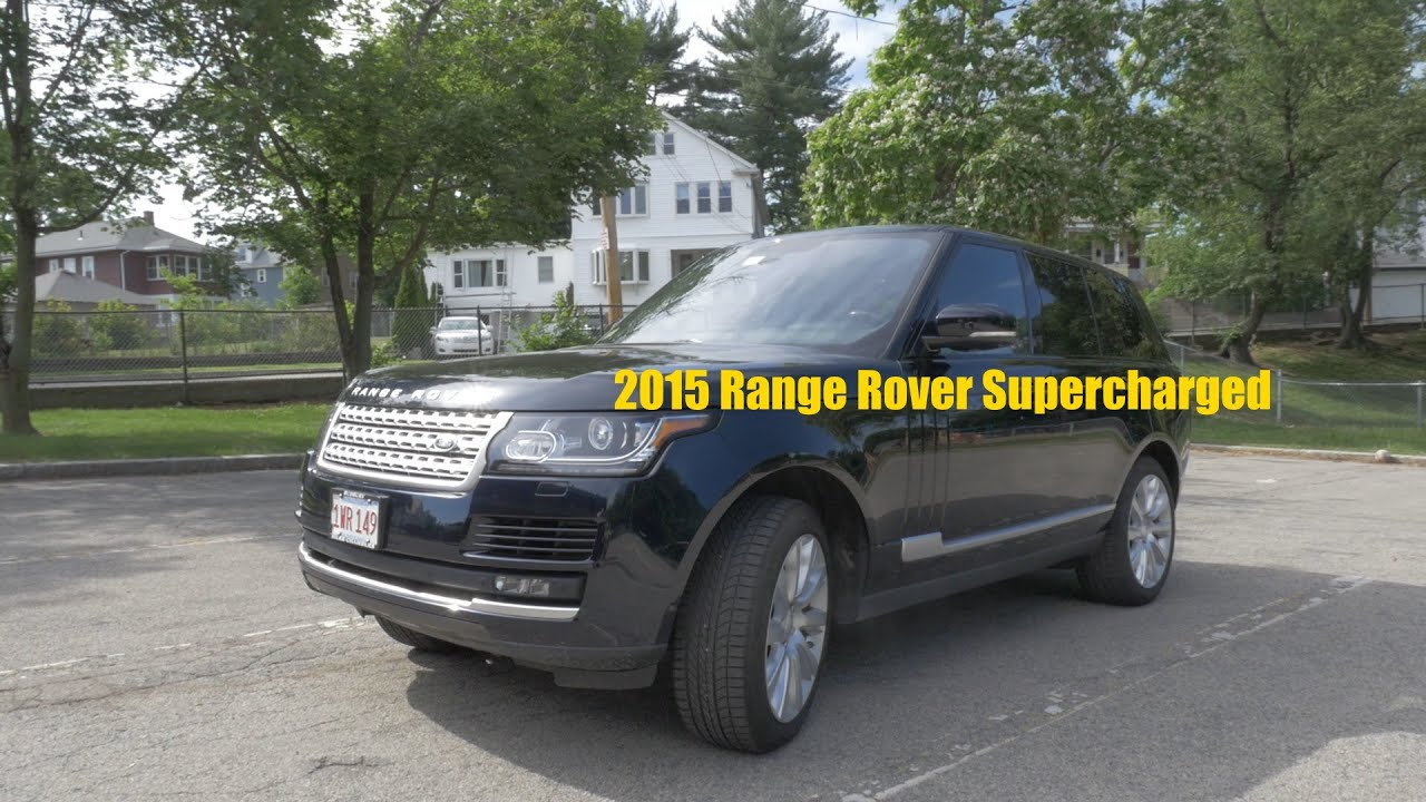 2015 Range Rover Supercharged Test Drive