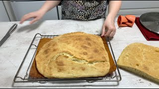 Домашнии Хлеб в Духовке рецепт из Села МУКА Pizza Mamma Mia Простои рецепт хлеба на дрожжях