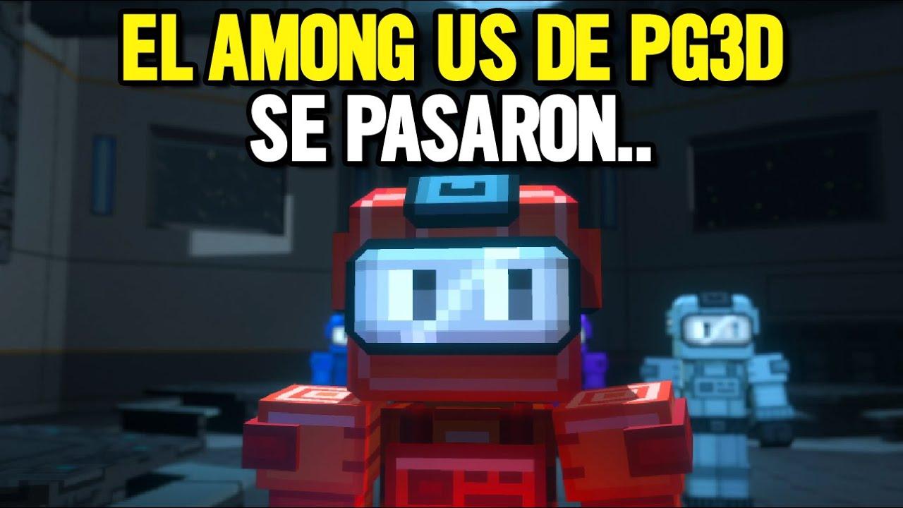 JUGUÉ EL AMONG US DE PIXEL GUN 3D CON SUS DESARROLLADORES Y...