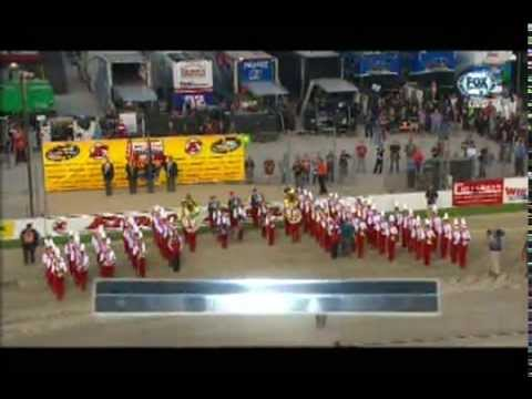 The Star Spangled Banner St Henry High School Marching Band 07-22-15