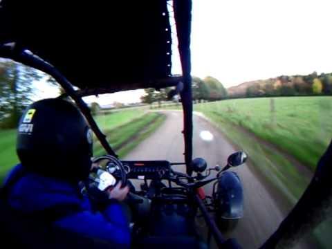 Stef Faivre en buggy dazon moteur 500 CB