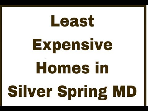 least expensive houses for sale in silver spring cheap