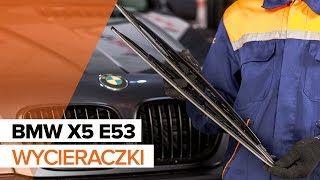 Jak wymienić przednie wycieraczki w BMW X5 E53 TUTORIAL | AUTODOC