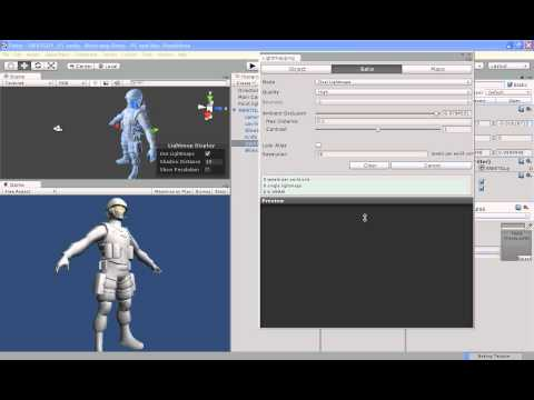 Unity3 - LightMappingSetUp -