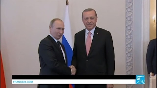 Russia  Erdogan meets Putin in Moscow to discuss energy issues, Syria