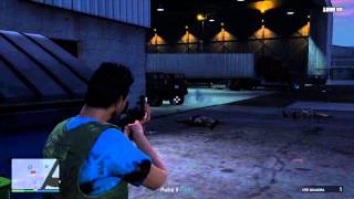 GTA V Online - Mission - Lester - A Titan of a Job - How to Steal the Titan - Trifase Crew