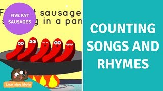 Counting Songs and Rhymes for Kids - Five Fat Sausages
