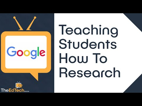Teaching Students How To Research