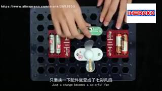 COOL~! DIY magical Electronic Block Toys | Demo tutorial video