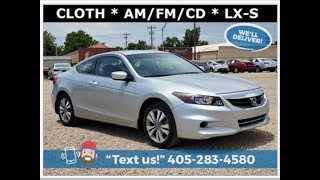 2012 Honda Accord For Sale - Stock #K4037A