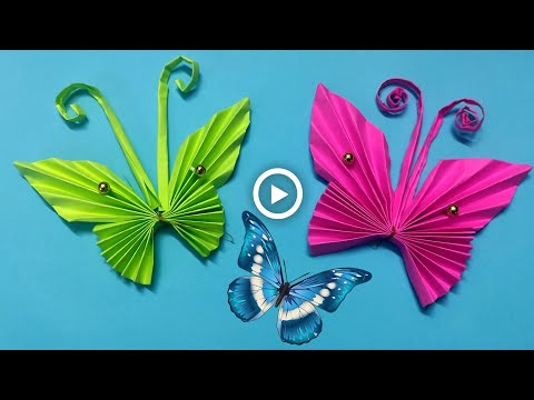 Paper Butterfly || How to make paper butterfly origami | DIY For Beginners