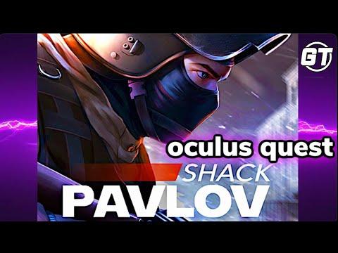 Pavlov Shack VR On Oculus Quest Via Side Quest