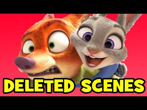 Zootopia DELETED SCENES & Rejected Concepts Explained