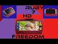 Test RUBY 7 HD Vidéo Loupe Electronique Connectable HDMI Votre Téléviseur  En Téléagrandisseur