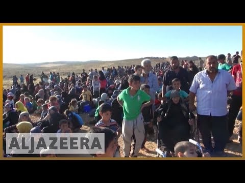 🇯🇴 🇸🇾 UN urges Jordan to admit some of refugees from Syria's Deraa | Al Jazeera English