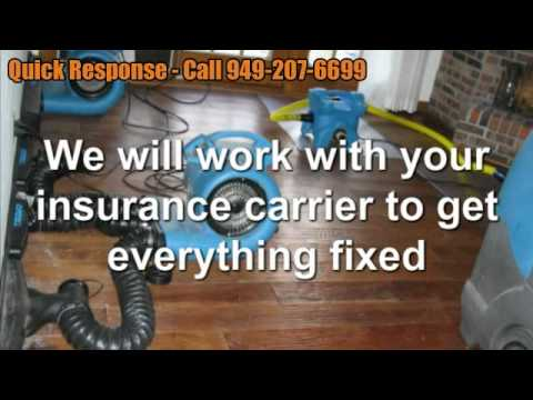 Emergency Water Damage Repair | 949-207-6699 | Laguna Woods CA | Water Damage Cleanup