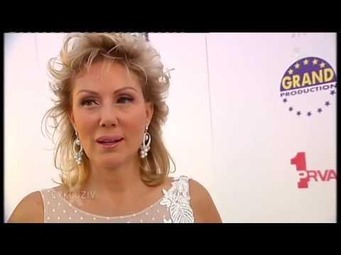 Lepa Brena - Exkluziv - Potpisivanje Ugovora Sa TV Prva - (TV PRVA, 16.06.2014.)