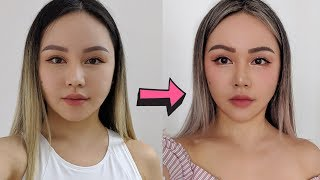 I tried Face Exercises for 30 days to get a slim face | Before/After | Worth It?