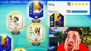 TOTS 195 FUTDRAFT WORLD RECORD CHALLENGE - FIFA 19