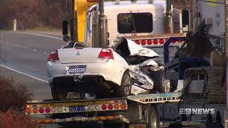 Driver killed on Tonkin Highway | 9 News Perth