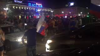 Россия - Испания - ЧМ 2018 - Маленькая фанатка
