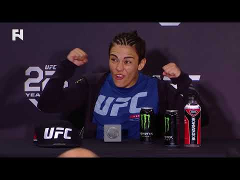 UFC 228: Jessica Andrade - I Offered to Fight Valentina Shevchenko on Short Notice