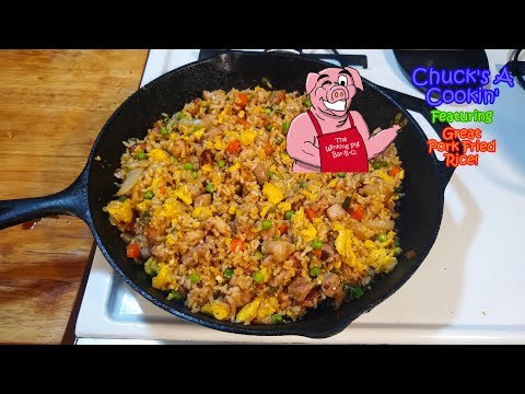 How To Make Great Pork Fried Rice!