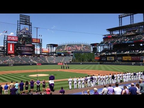 Seattle Mariners vs Colorado Rockies - Coors Field Denver, CO - 05-Aug-2015