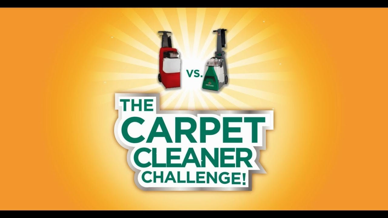 bissell rental the carpet cleaner challenge shorter version youtube
