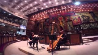 Avance Recital de arpa y violín