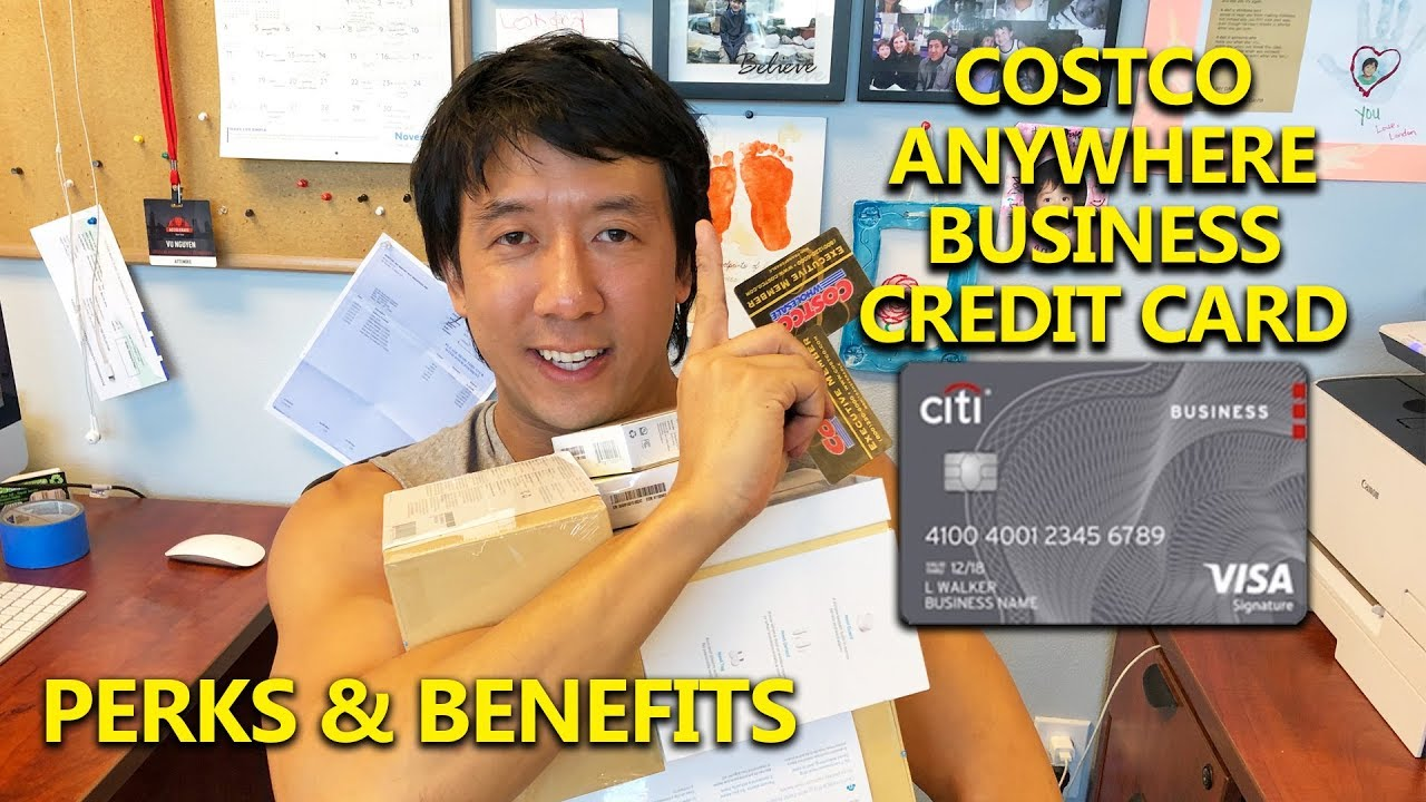 COSTCO ANYWHERE BUSINESS CREDIT CARD REVIEW  PERKS & BENEFITS