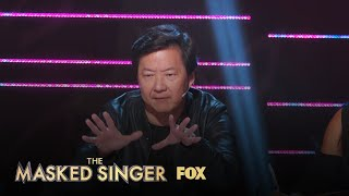 Ken Jeong Reacts To The Alien's Performance | Season 1 Ep. 2 | THE MASKED SINGER