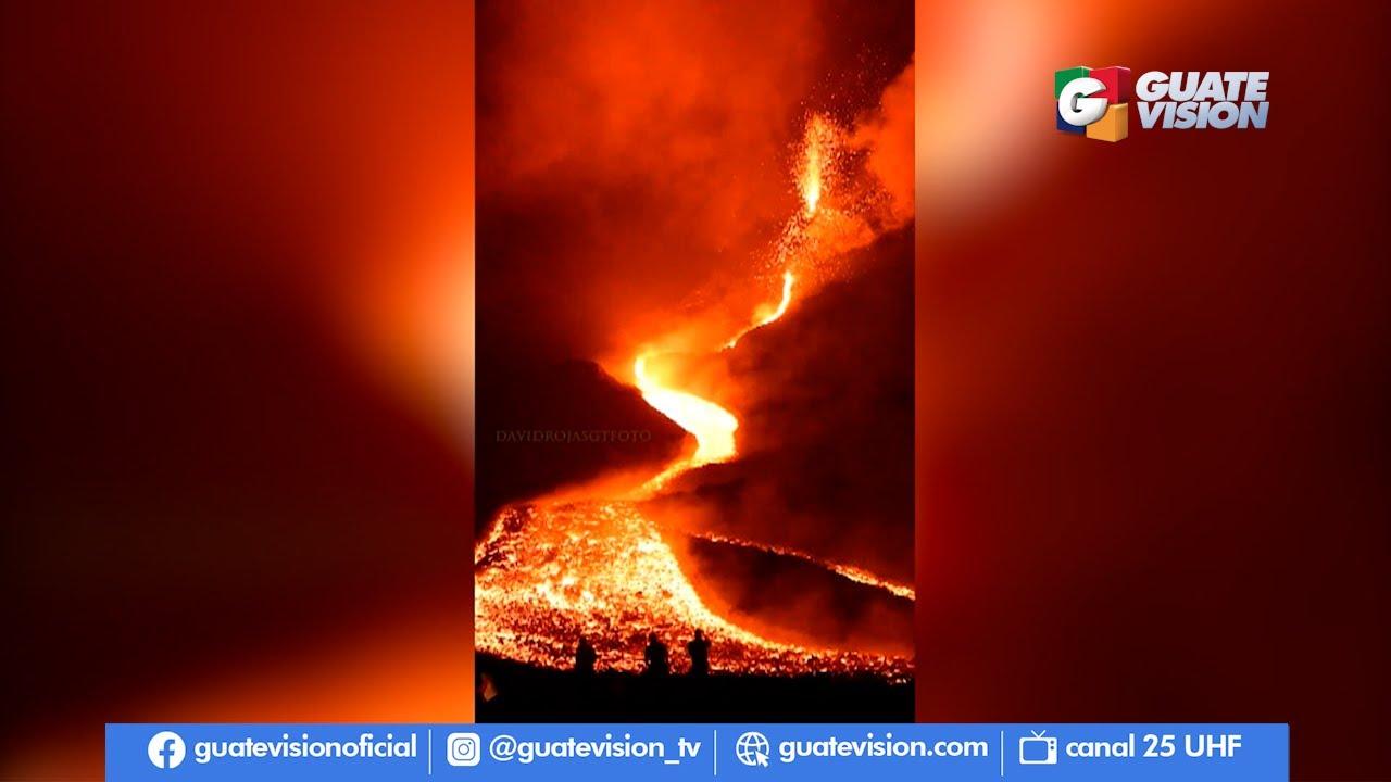 Fotógrafo capta erupción del volcán Pacaya