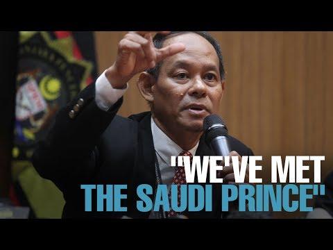 NEWS: Saudi prince had no evidence of donation