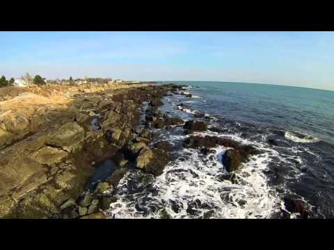 Air Supply - Sweet Dreams: Drone over  Wallis Sands State Beach, Rye, New Hampshire