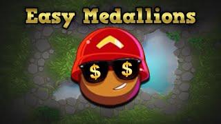I won 35,000 Medallions in LESS THAN A MINUTE (BTD Battles)
