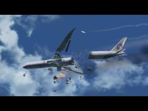 10 vidéos choquantes, CRASH d'avion