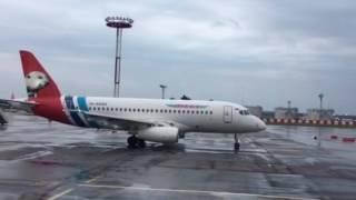 видео Новый SSJ-100 пополнил парк самолетов авиакомпании