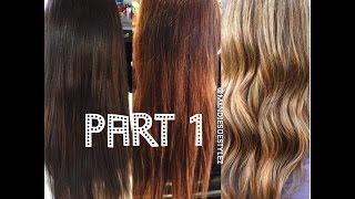 Stripping Out Box Color & Olaplex Treatment |PART1|