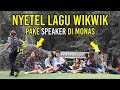 Prank Wikwik Pake Speaker Auto Ngakak Di Monas