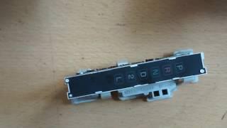 Toyota Land Cruiser 80 выборка акпп приборной панели